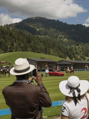 Polo cup at Gstaad Airport