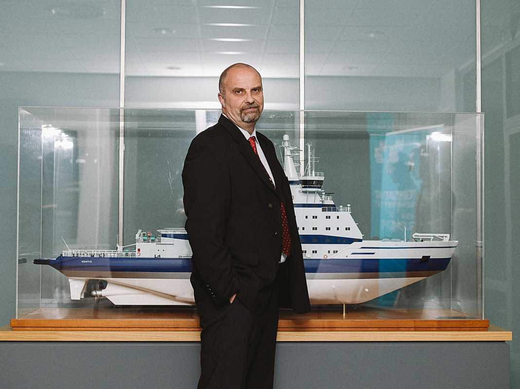 Jarkko Toivola, head of the Winter Navigation Unit, Finnish Transport Agency