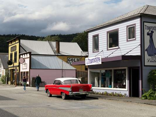Skagway's charming Old West feel takes you back in time