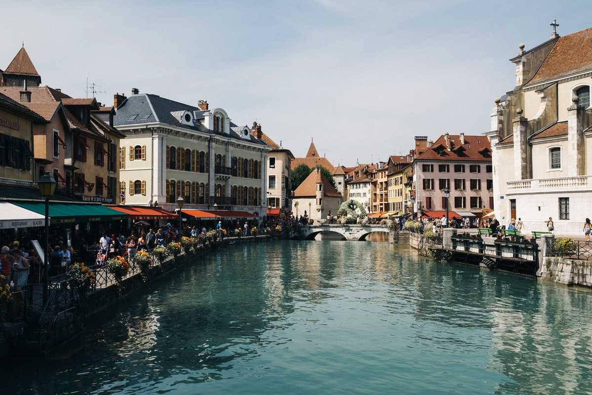 Easy living in Annecy
