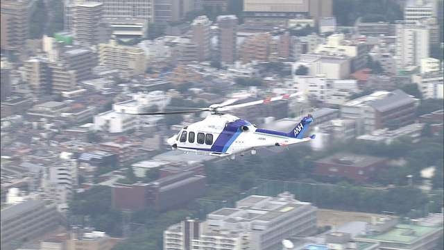 Choppers are on standby around Japan