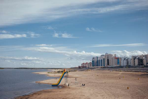 Yakutsk city beach