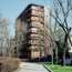 Residential tower in Via Massena