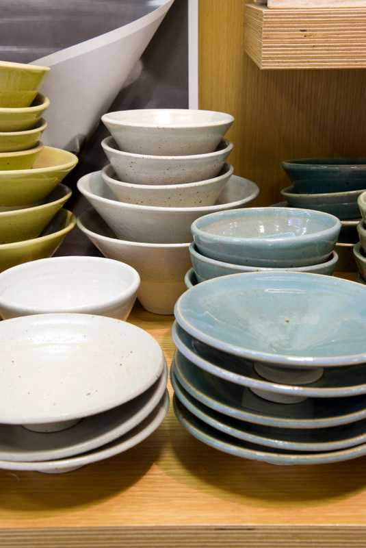 Kyushu table ware from B.B.B. potters store