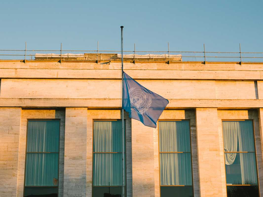 UN headquarters at Palais des Nations