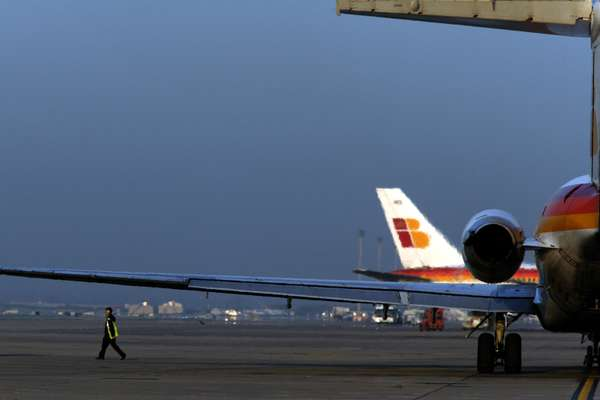 Airline Iberia is based in Madrid, close to Barajas airport