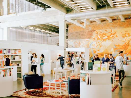 Art book fair in Garage Museum