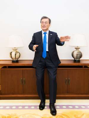Moon has big plans for his tenure as president