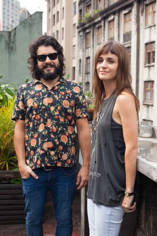 O Farol's founders Elohim Barros and Renata Mein
