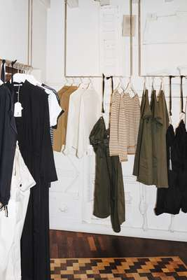 Womenswear in the shop