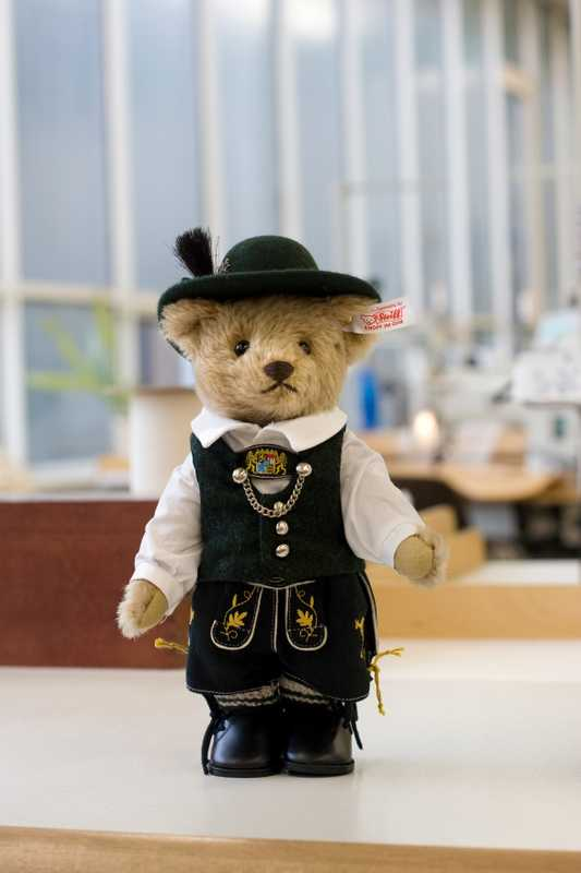 Steiff limited-edition traditional costume bear