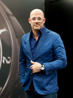 Vincent Perriard, CEO of watchmaker HYT