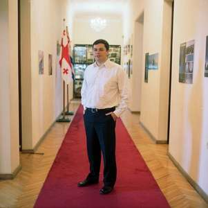 Deputy minister of finance and economy of Adjara, Grigol Tsamalashvili