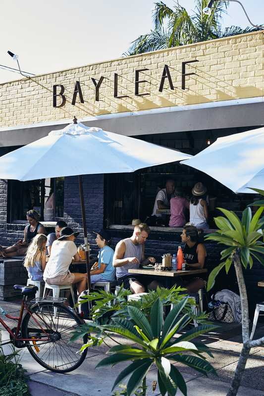 Breakfast at the Bayleaf