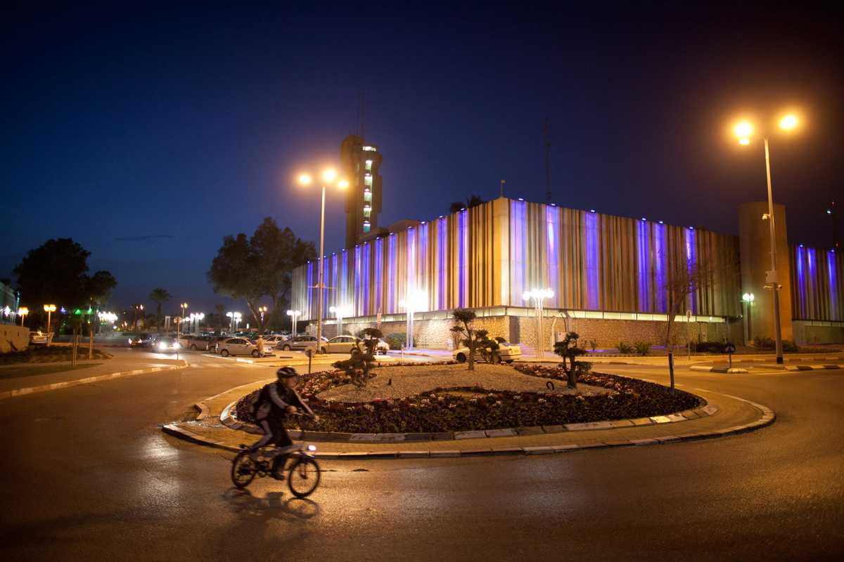 Cycling in Be'er-Sheva