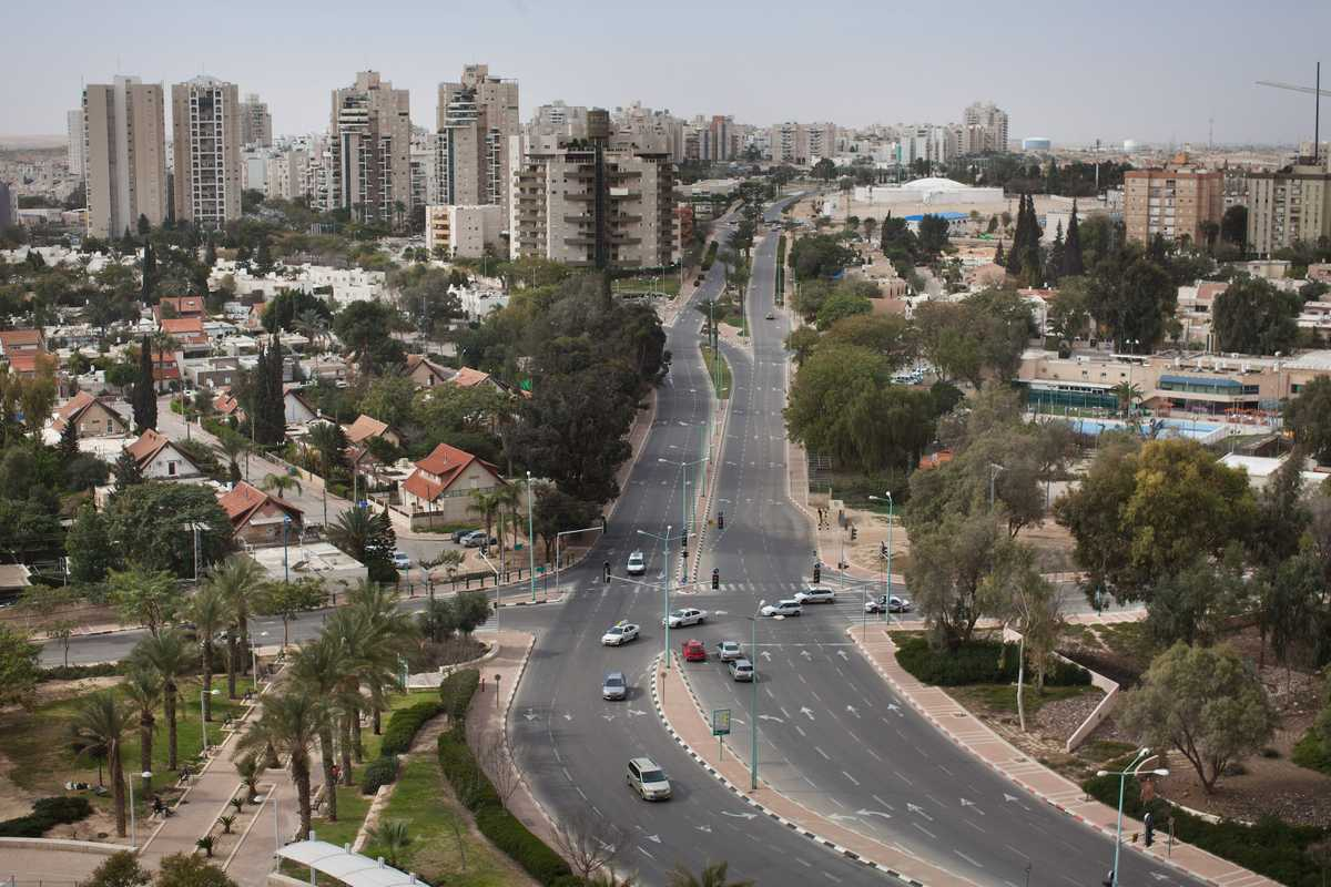 View of Be'er-Sheva