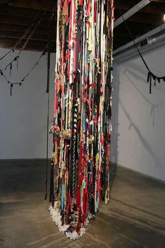 "John Outterbridge's ""The Rag Factory"" (2011) at LAXART"