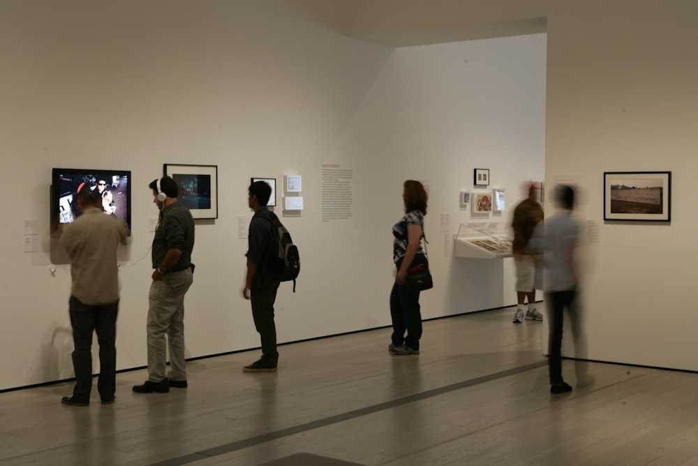 Gallery view at LACMA