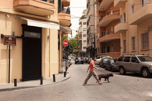 Dog-walking in Ashrafieh