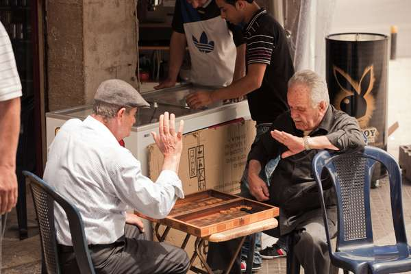 Backgammon in Ashrafieh