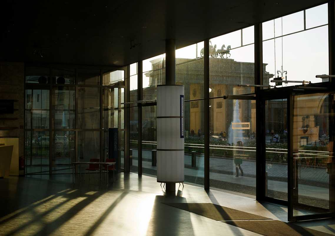 Interior of the Akademie der Künste in Mitte