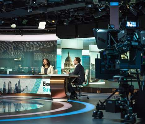 Bloomberg TV studio
