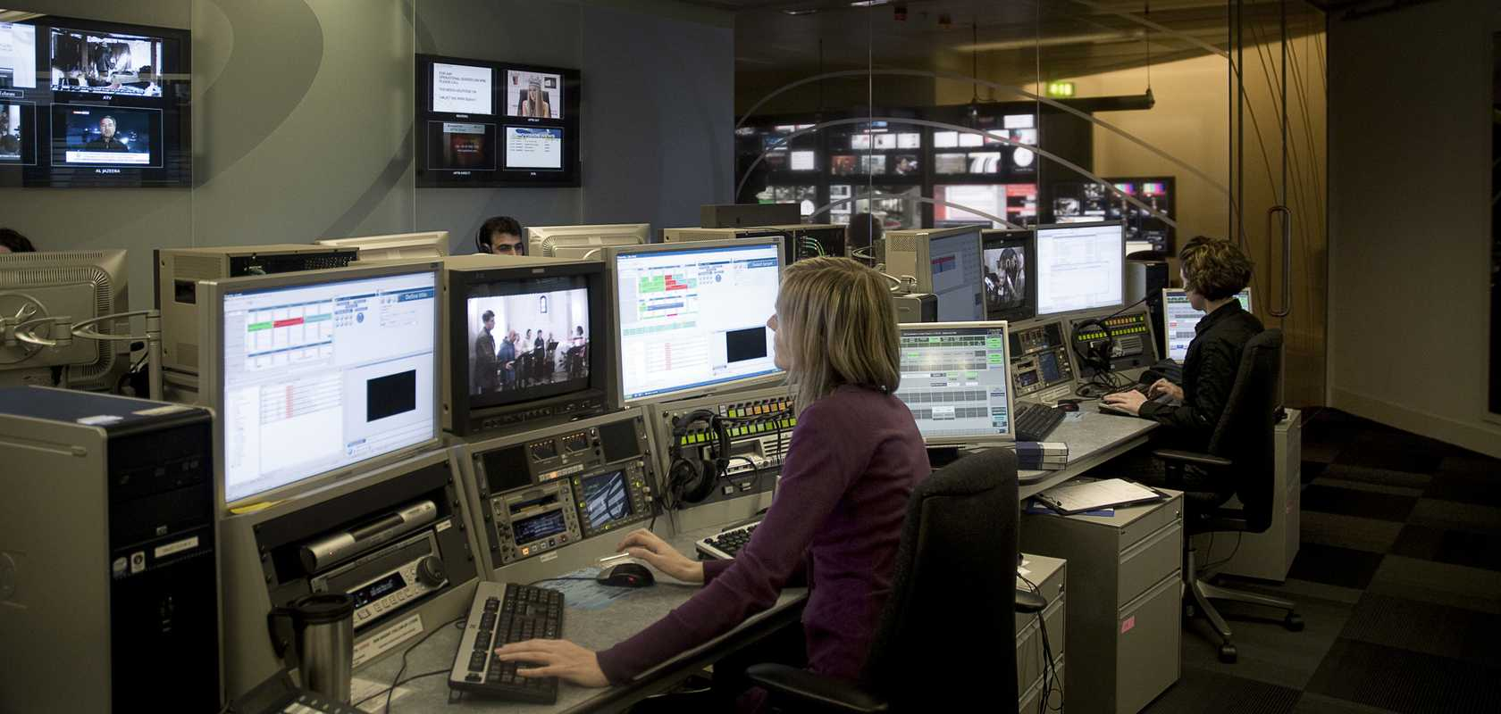 Inside the editing suite at PTV