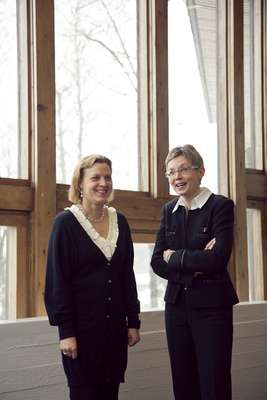 Co Zone founders Veera Mustonen and Marjo Hinkkala