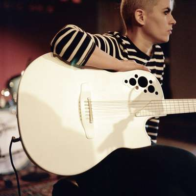 Brooklyn-based musician Kaki King in the KUTX studio for a session