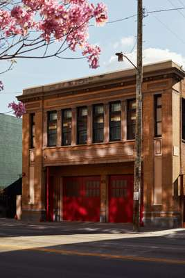 Exterior of The Firehouse Hotel