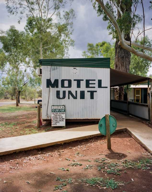 'Dongers' (accommodation units) at the Kumarina roadhouse