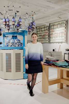 Senior knit engineer Annemarie Reedijk