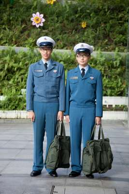 Cadets at Chung Cheng Armed Forces Preparatory School