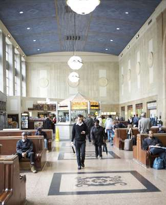 Newark's Penn Station