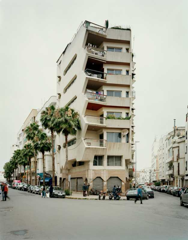 Apartment building on Avenue Hadj Amar Riffi