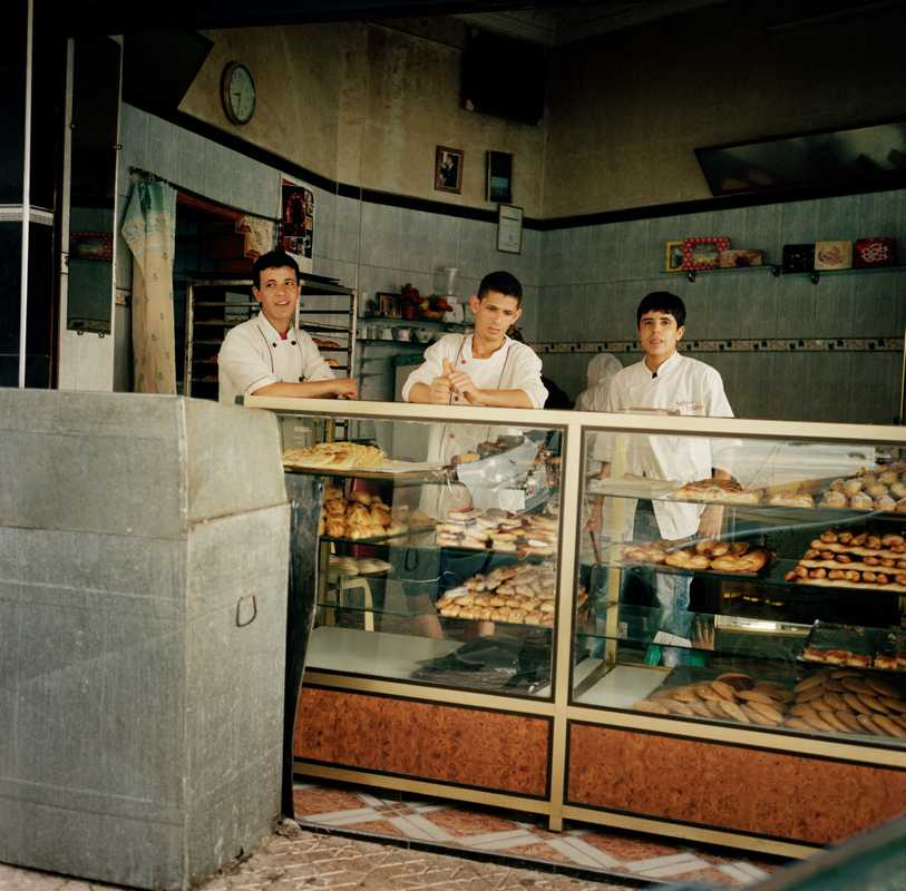 A bakery on Avenue Hadj Amar Riffi