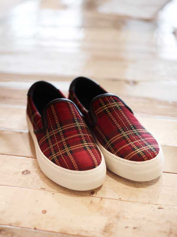 Tartan shoes by Sofie D'Hoore