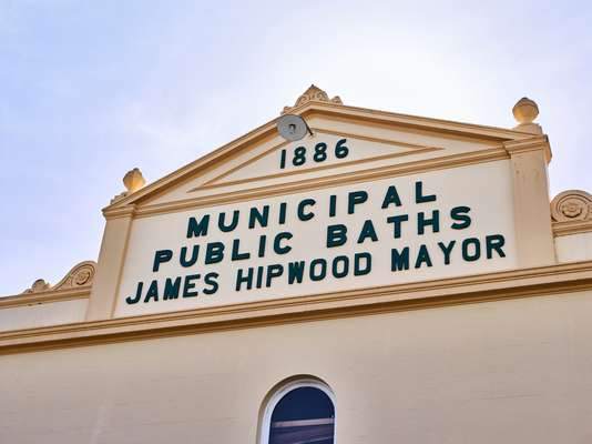 Façade of Spring Hill Baths