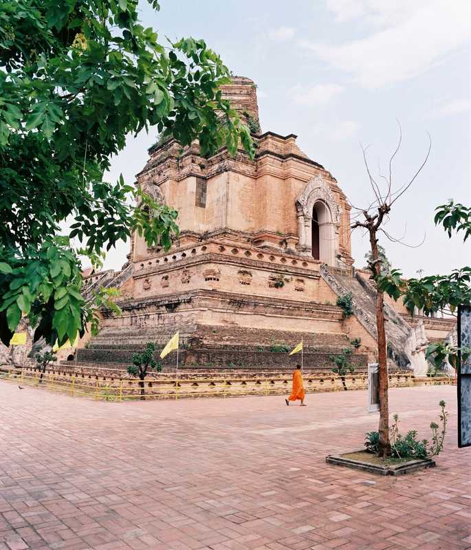 Wat Chedi Luang, one of Chiang Mai's most famous temples