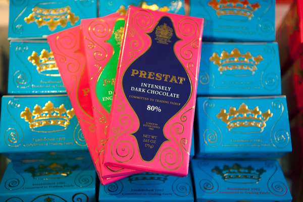 Prestat chocolate bars
