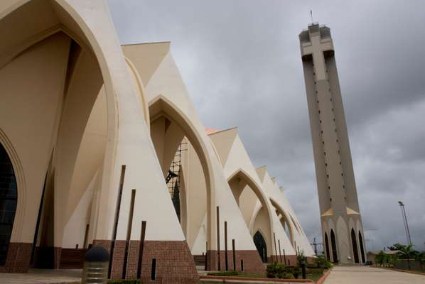 The recently completed Nigerian National Christian Centre
