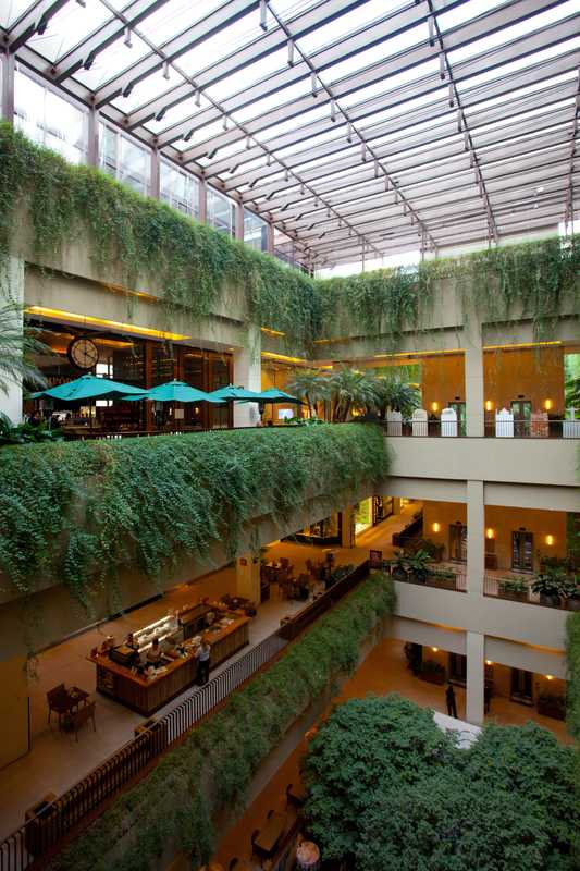 Cidade Jardim combines the feel of a park with world class-retail