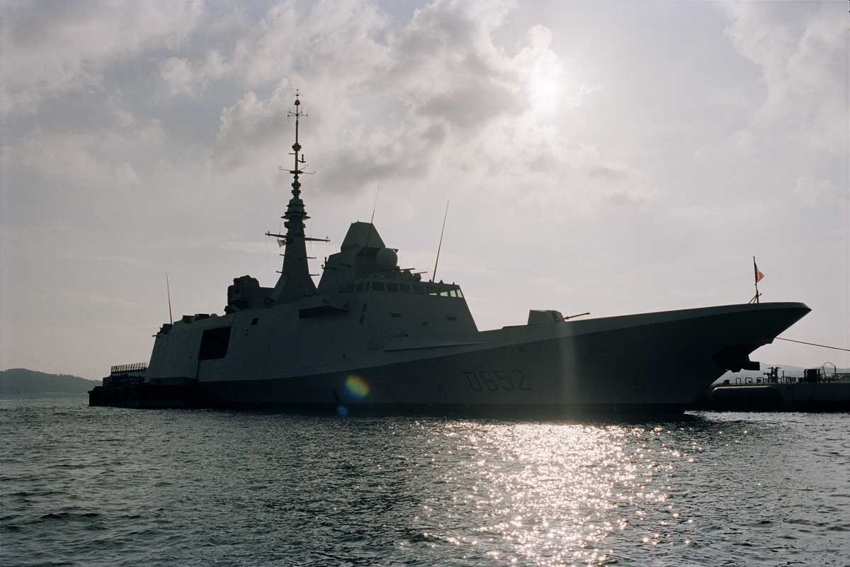 Toulon is home to 70 per cent of the French fleet