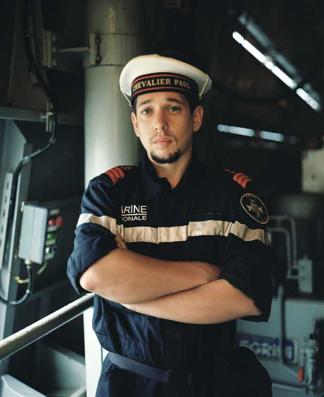 Sailor aboard the 'Chevalier Paul'