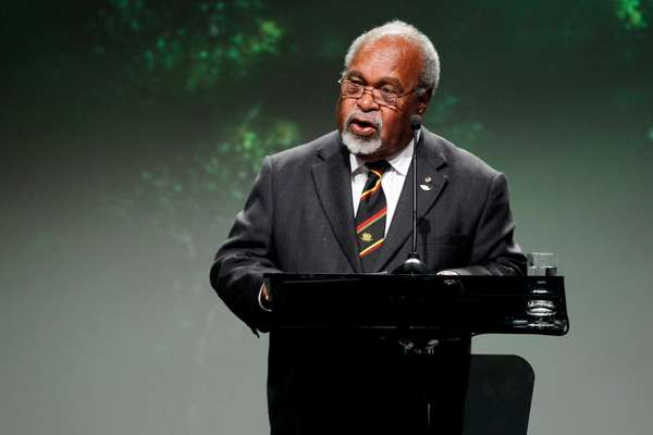 Papua New Guinea's founding father, Sir Michael Somare