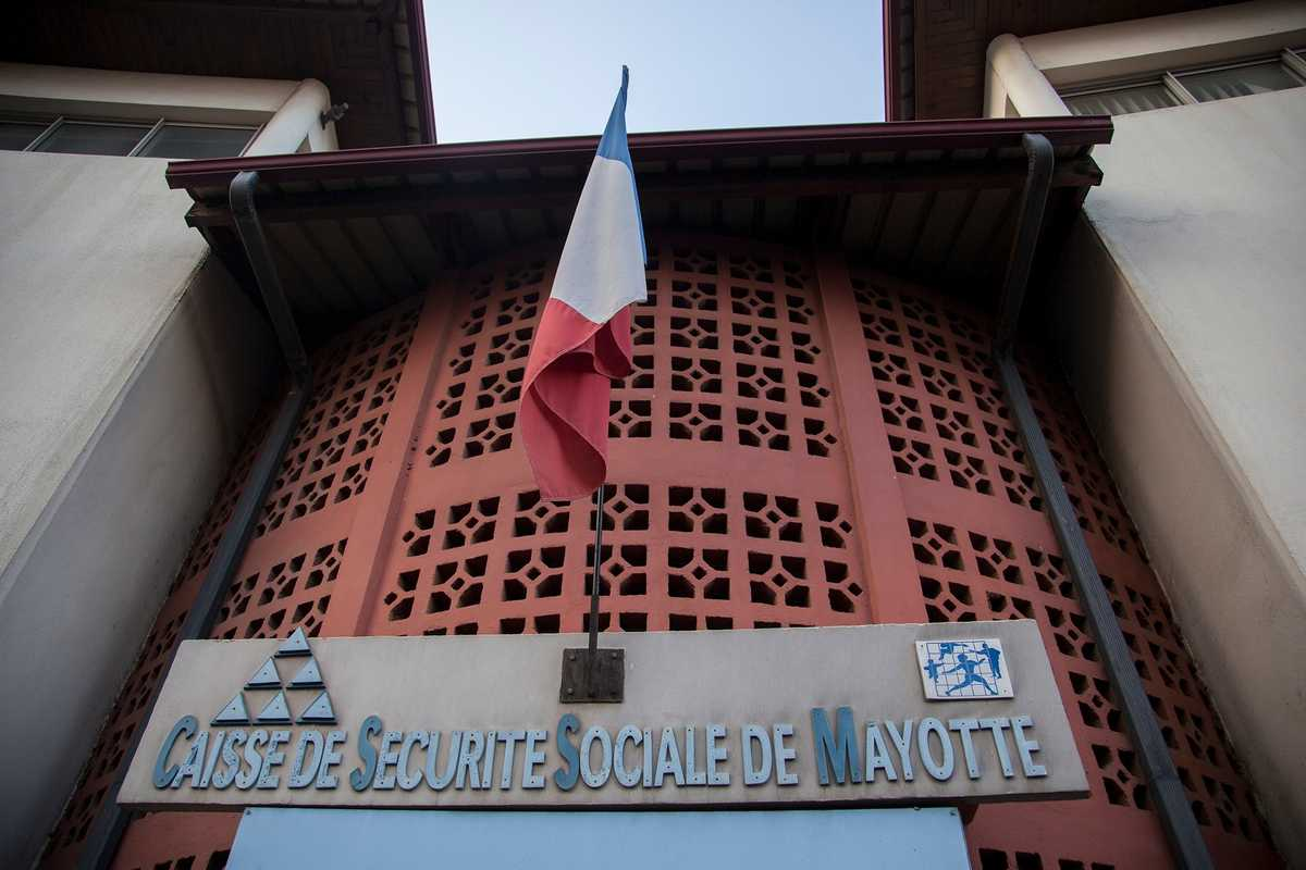 Social security office, Mayotte