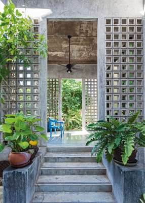 02. One of the semi-outdoor spaces found  throughout the Harirak Residence