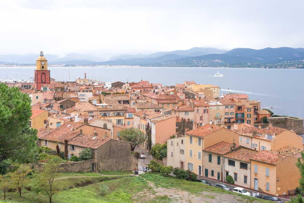 View of Saint-Tropez from the Citadelle