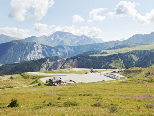 Courchevel Altiport's tarmac runway is the highest and shortest in Europe