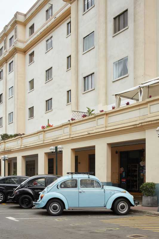 Beetle power in Miraflores